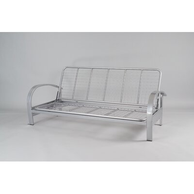 Full Futon Metal Frame in Silver