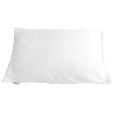 Travel Bed Buckwheat Hulls Pillow Size: 15 x 20, Color: White