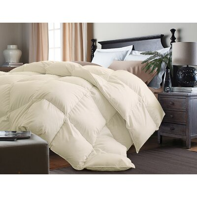 Down Alternative Comforter Size: King, Color: Ivory