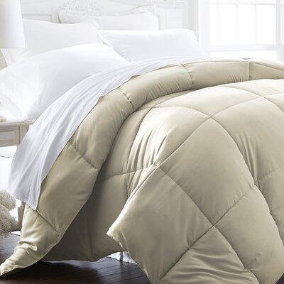 All Season Down Alternative Comforter Size: King / California King, Color: Ivory