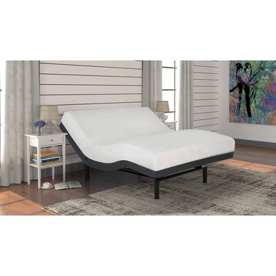 2.0 Foundation Style Adjustable Bed Size: Twin XL