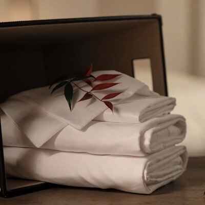 Sheet Set Size: California King, Color: White