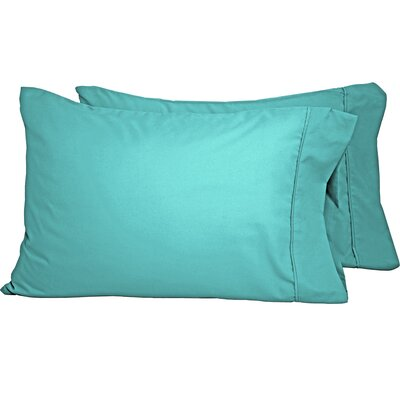 Shiflet Luxury Premium Ultra-Soft Pillow Case Size: Standard, Color: Turquoise