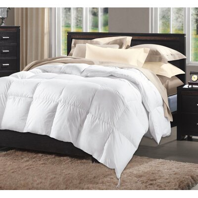 Home Sweet Luxurious Midweight Down Alternative Comforter Size: King