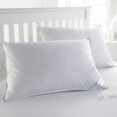 Duck Feather Pillow Set Size: Queen
