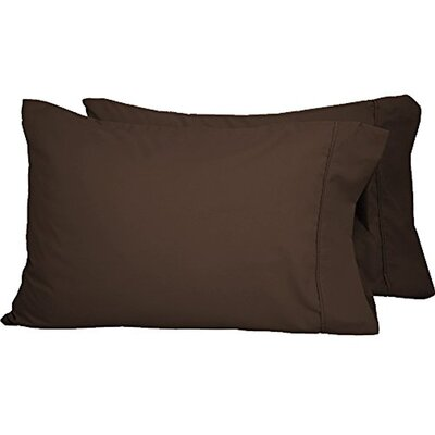 Shiflet Luxury Premium Ultra-Soft Pillow Case Size: Standard, Color: Cocoa
