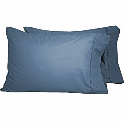 Shiflet Luxury Premium Ultra-Soft Pillow Case Size: Standard, Color: Coronet Blue