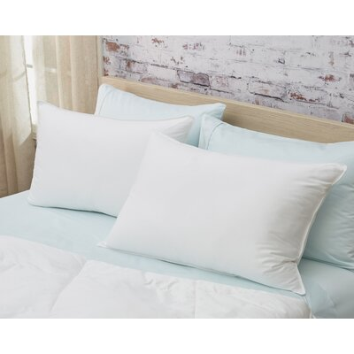 Medium Down Alternative Pillow Size: Standard