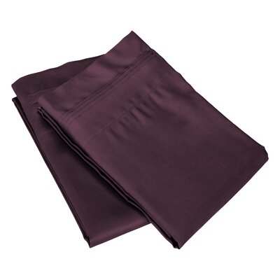 Pillow Case Size: King, Color: Plum