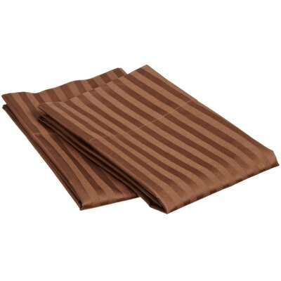 Pillow Case Size: Standard, Color: Chocolate