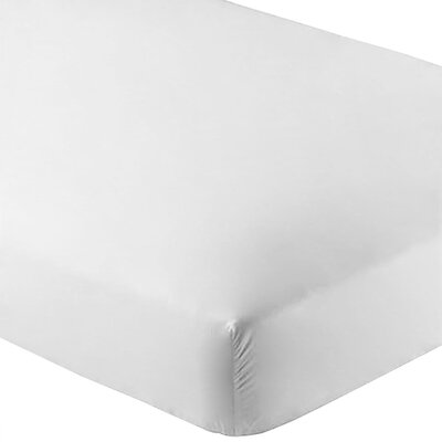 Ultra-Soft Luxury Microfiber Fitted Sheet Color: White, Size: Queen