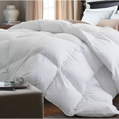 Down Alternative Comforter Size: King, Color: White