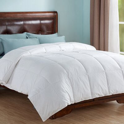 All Season Down Alternative Comforter Size: King