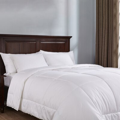 400 Thread Count All Season Down Alternative Duvet Insert Size: King