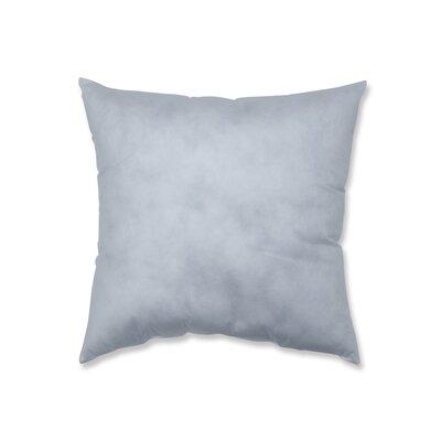 Non-Woven Pillow Insert Size: 20 H x 20 W x 5 D