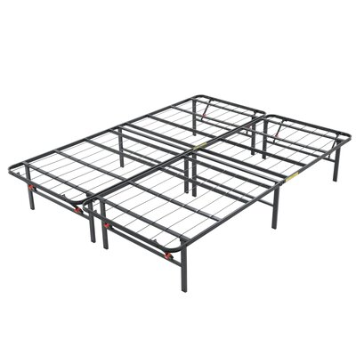14 Platform Heavy Duty Metal Bed Frame Size: King