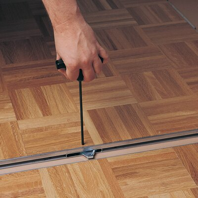 Cam-Lam Dance Floor 48 x 48 x 20mm White Laminate and 12 Trims