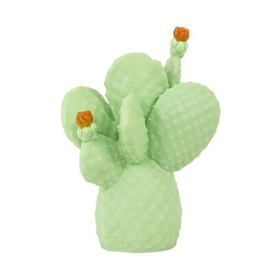Cactus Night Light Color: Pale Green/Dark Orange