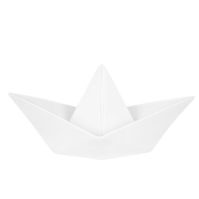 Paper Boat Night Light Color: White