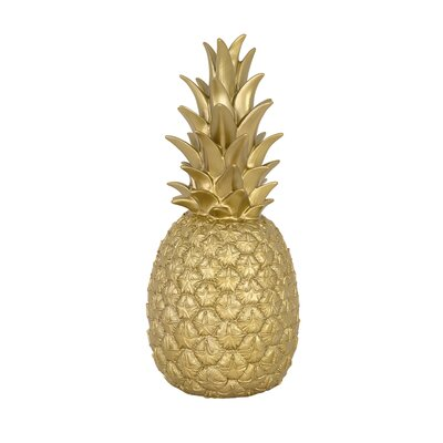 Pineapple Night Light Color: Gold