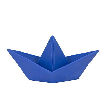 Paper Boat Night Light Color: Navy Blue