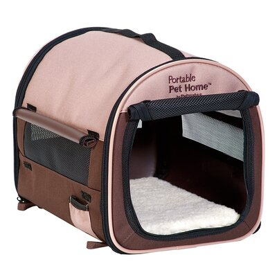 Portable Pet Home Soft Pet Carrier Size: Small (16 H x 14 W x 18 L)