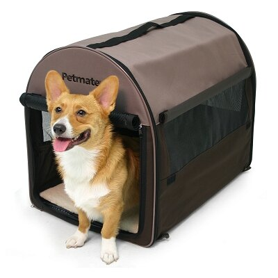 Portable Pet Home Soft Pet Carrier Size: Medium (21 H x 18 W x 26 L)