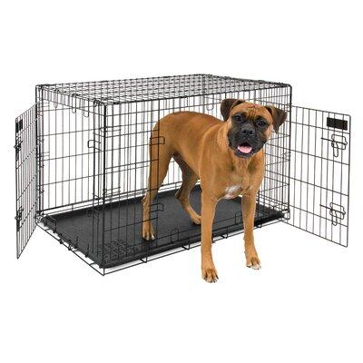 2 Door Training Retreat Wire Yard Kennel Size: 28 H x 25 W x 38 L
