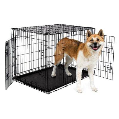 2 Door Training Retreat Wire Yard Kennel Size: 31 H x 28 W x 43 L