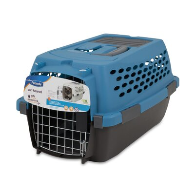 Vari Yard Kennel Size: 12.3 H x 10.8 W x 19 L, Color: Blue/Black