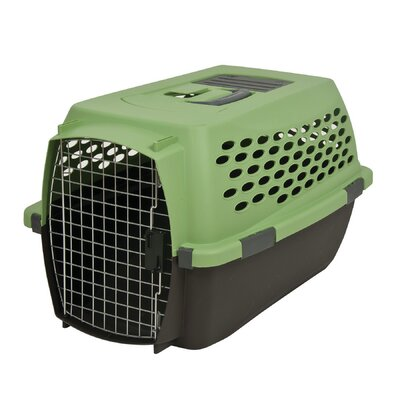Vari Yard Kennel Size: 16.7 H x 12 W x 24.1 L, Color: Green/Black