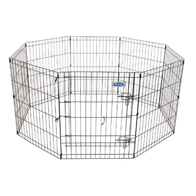 Exercise Dog Pen Size: Small (30 H x 24 W)
