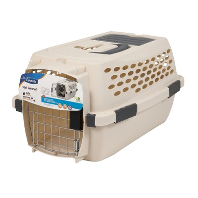 Vari Yard Kennel Size: 12.3 H x 10.8 W x 19 L, Color: White
