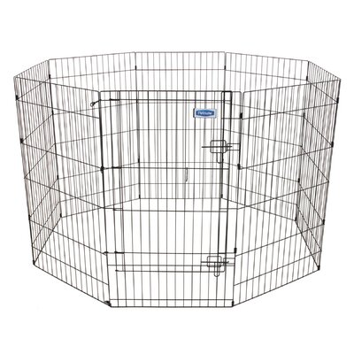 Exercise Dog Pen Size: Large (42 H x 24 W)