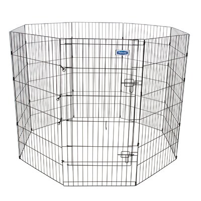 Exercise Dog Pen Size: X-Large (48 H x 24 W)