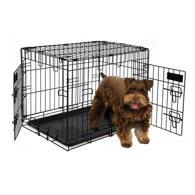 2 Door Training Retreat Wire Yard Kennel Size: 20 H x 17 W x 24 L