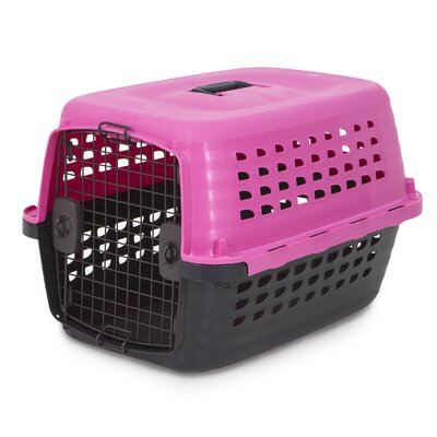 Compass Fashion Yard Kennel Size: 16.85 H x 15 W x 24.6 L, Color: Hot Pink