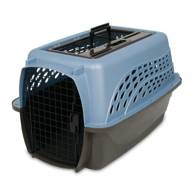 Pet Carrier Color: Ash Blue / Coffee