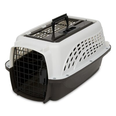 Pet Carrier Color: Pearl White / Coffee