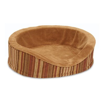 Antimicrobial Deluxe Oval Bolster Dog Bed