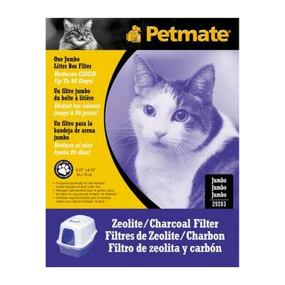 "Basic Litter Pan Zeolite Filter (Set of 3) Size: Jumbo 6.2"" x 6.1"" DO29203"