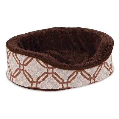 Fashion Oval Foam Lounger Dog Bed