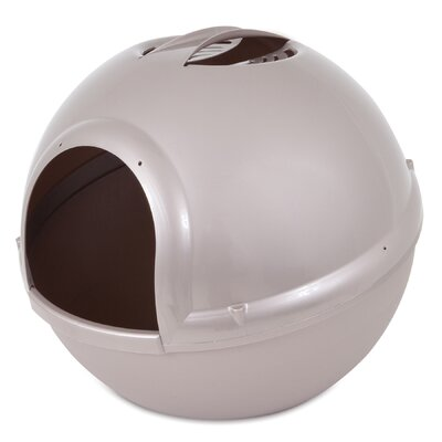 Booda Dome Litter Pan Color: Pearl Tan