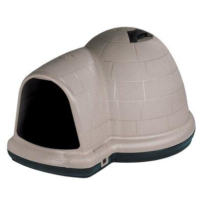 Indigo Dog House Size: 22.8 H x 30.5 W x 37.5 D