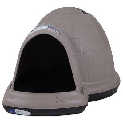 Indigo Dog House Size: 35.8 H x 34 W x 43.8 D