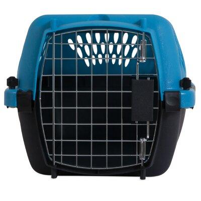Porter Fashion Pet Carrier Size: X- Small (10 H x 12.6 W x 19 L), Color: Breeze / Black