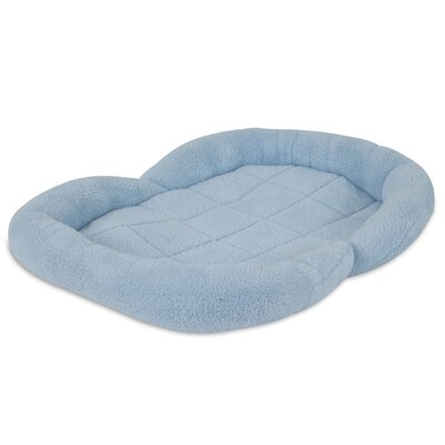 Puppy Bolster Dog Bed Color: Blue