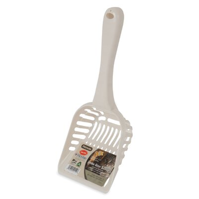 Litter Scoop with Microban Size: Jumbo (11.4 H x 4.7 W x 2.4D)