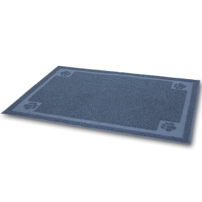 Litter Catcher Mat Color: Ice Blue