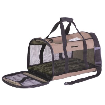 Plush Soft Sided Pet Carrier